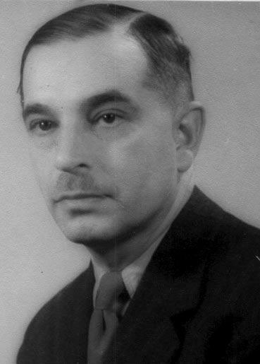 """por. Władysław  Miładowski """"Haliński"""" (1901-1944). Fot. udostępnił Dariusz Miładowski."""