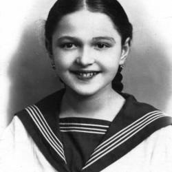 Barbara Wiewiórkowska (1925-1944) Fot. AR MPW