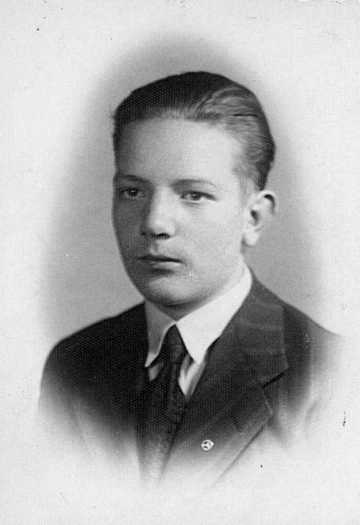 """Zygmunt Warszawski ps. """"Zygmunt"""" Fot. archiwum rodzinne."""