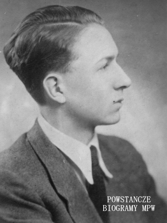 """Kpr. pchor. Andrzej Naspiński """"Andrzej"""" (1925-1944). Fot. z archiwum Krystyna Plewko ps. """"Krystyn"""""""