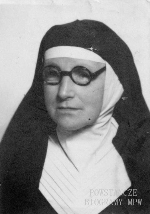 Stanisława Maria Trzaska-Durska - siostra Izabela (1893-1977). Fot. udostępnione z archiwum ss. Zmartwychwstanek
