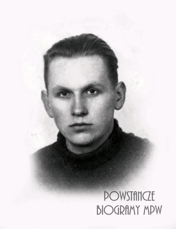 """Michał Rechnio """"Michaś""""na zdjęciu przed 1939 r. Fot. z archiwum rodzinnego udostępniła Dorota Zacharzewska"""