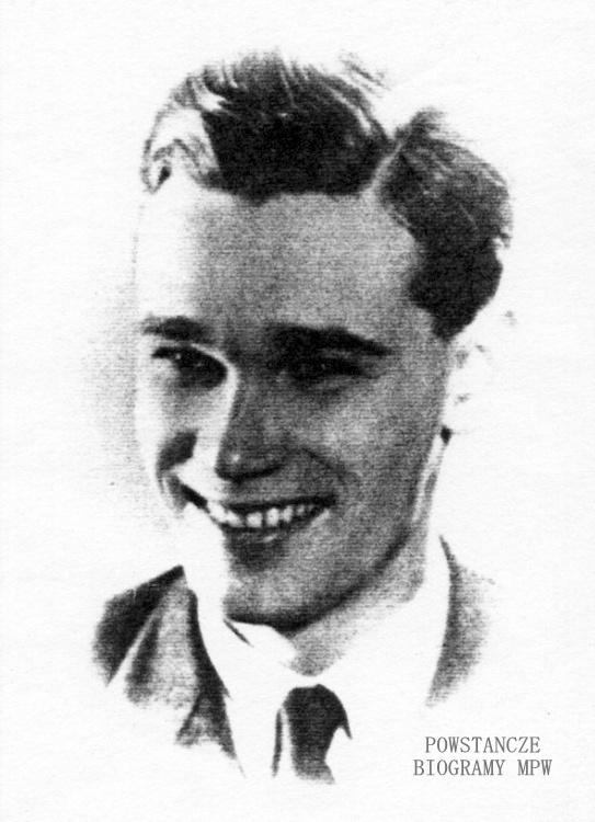 """Andrzej Orłow ps.""""Andrzej"""" (1919-1944). Fot AR MPW"""