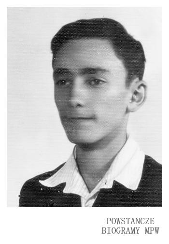 """Radomił Wochnik ps. """"Doman"""" (1924-1944) <ul>  Fot. z archiwum rodzinnego p. Danuty Wochnik - Dyjas</ul>"""