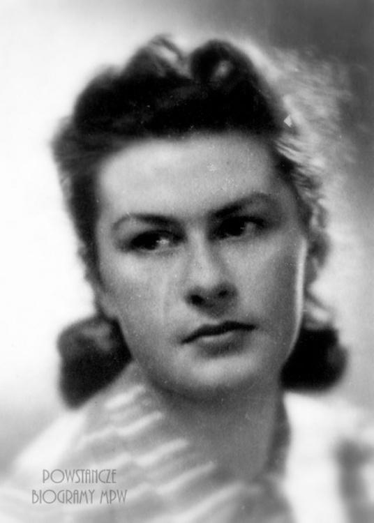 """Renata Musikowska ps. """"Jadwiga"""" (1923-1944). Fot. AR MPW"""
