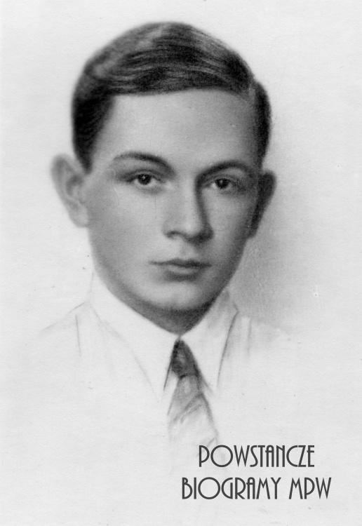 """Władysław Jęcz """"Włodek"""" (1924-1944). Fot. archiwum rodzinne"""