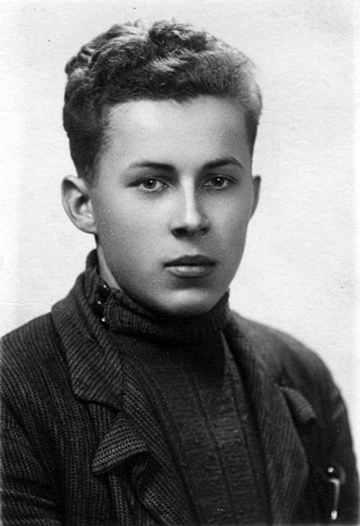 Jerzy Dylewski. Zdjęcie ze zbiorów rodzinnych siostry Jerzego.