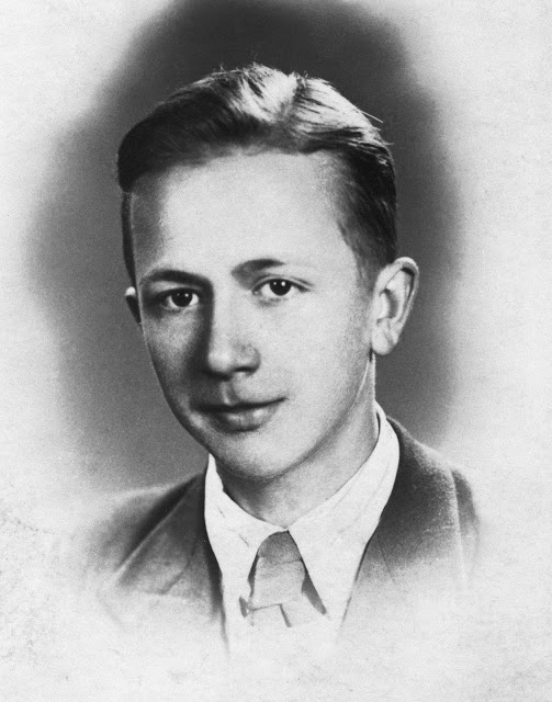 """Zbigniew Czechowicz ps. """"Wit"""" (1924-1944). Fot. AR MPW"""