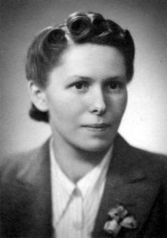Barbara Maria Wieszczycka. 1941.  Zdjęcie z archiwum rodzinnego Edwarda Kryna