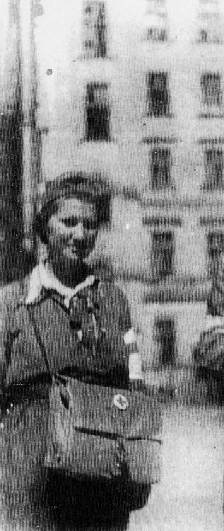 """Powstanie Warszawskie - patrolowa """"Duda"""" Wanda Jędraszko"""