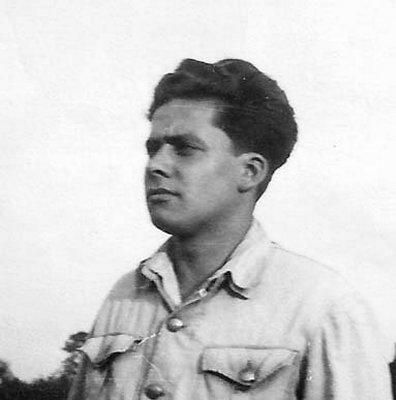 """Janusz Hamerliński """"Morski"""". Fot. archiwum rodzinne"""