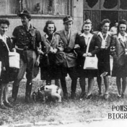 "Sanitariuszki z patrolu sanitarnego 107 plutonu, 3 kompanii. VIII Zgrupowania kpt. ""Krybara"
