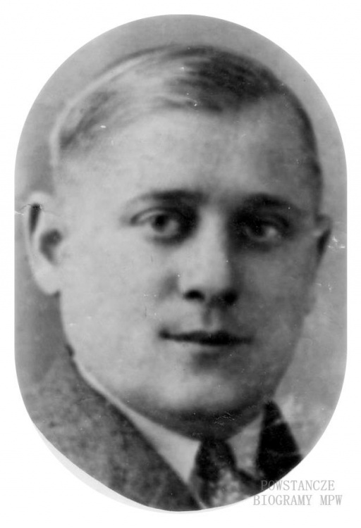 """Jan Bogusz ps. """"Stalowy"""" (1905-1944).  Jedyne zachowane zdjęcie Jana Bogusza wykonane w 1944 roku. Fot. z archiwum rodzinnego Anny Bogusz."""