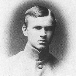 Wacław Iwanowski - rok 1915, w mundurze ucznia bursy