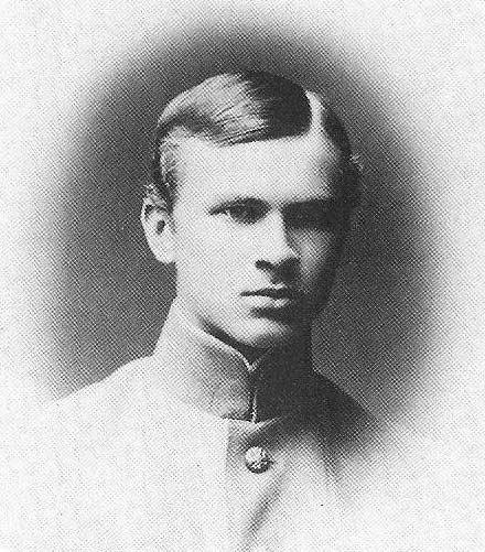 """Wacław Iwanowski - rok 1915, w mundurze ucznia bursy """"Tatianski institut"""""""