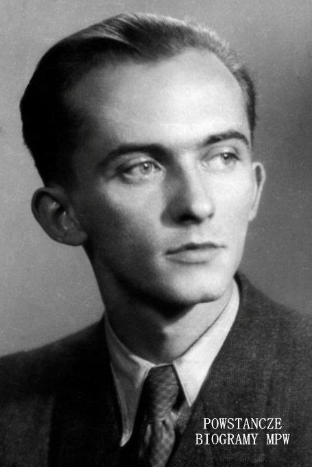 """Portret Jerzego Ficowskiego ps.""""Wrak"""" (1924-2006) Fot. Władysław Miernicki. Ze zbiorów NAC  <i> [www.audiovis.nac.gov.pl] </i>"""