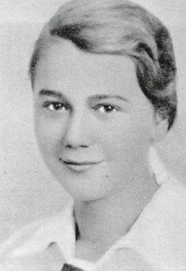 """phm. Jadwiga Zbucka ps. """"Buńka"""" (1924-1948) Fot. AR MPW"""