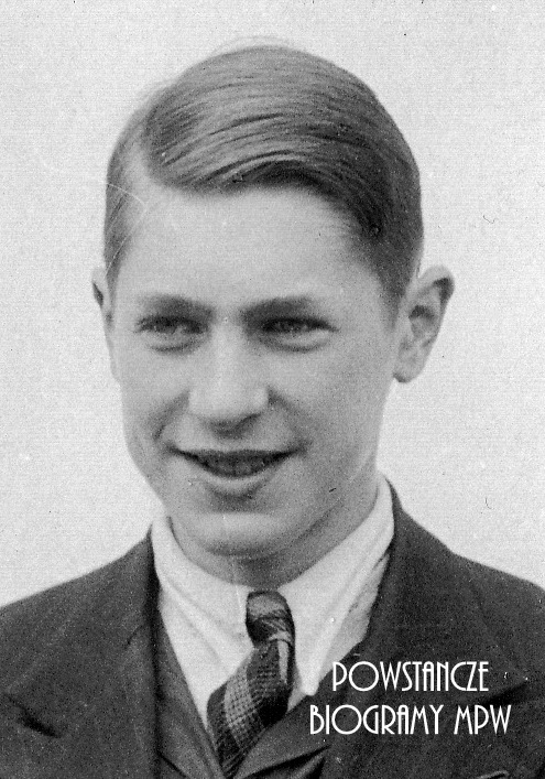 """Andrzej Tomir Czekierski """"Miś"""" (1926-1944). Fot. udostępniła Estela Czekierska-Radwańska"""