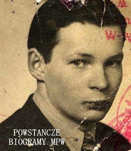 """Waldemar Zygmunt Pański """"Rączka"""" (1927-2016). Fot. archiwum rodzinne"""