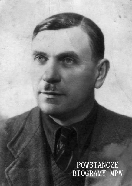 """Bolesław Czyż """"Orzeł"""" (1898 - 1985). Fot. udostępnione z archiwum rodzinnego przez Ewelinę i Tomasza Czyża"""
