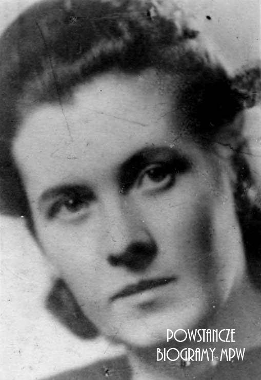 """Jadwiga Jankielewicz """"Wisia"""" (1915-1944) Fot. AR MPW"""
