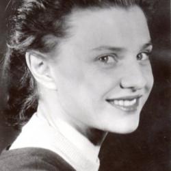 Maria Janecka - Wasowska. Fot. archiwum rodzinne.