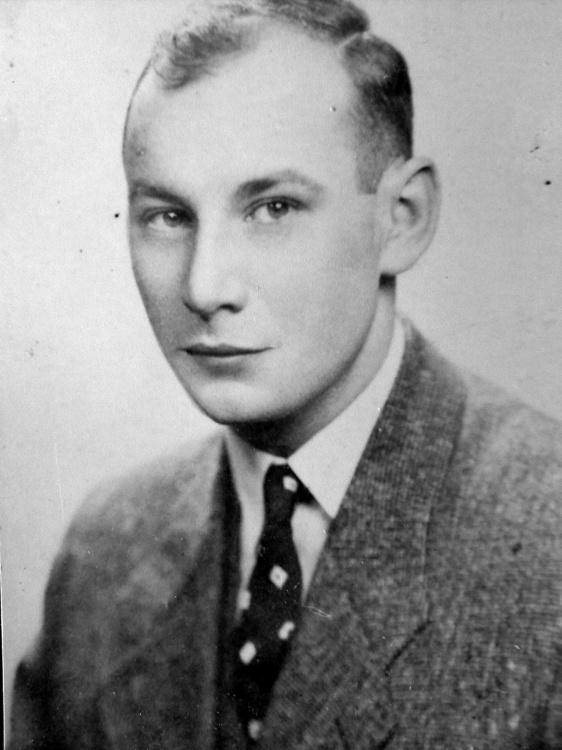 """Jan Kluczewski """"Krawczyk"""" (1920-1944) Fot. archiwum rodzinne  Piotra Blaka"""