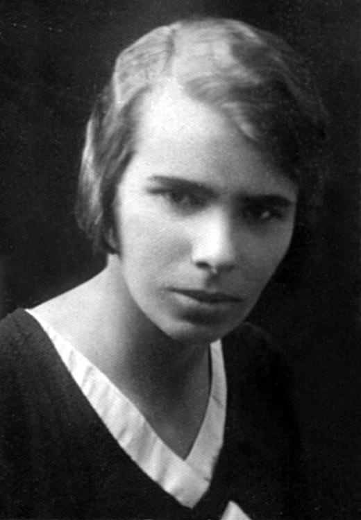 Anna Bazińska - zdjęcie ze zbiorów Ignacego Nowosielskiego