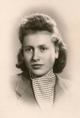"""Stanisława Gawlik """"Stenia"""". Fot. archiwum rodzinne"""