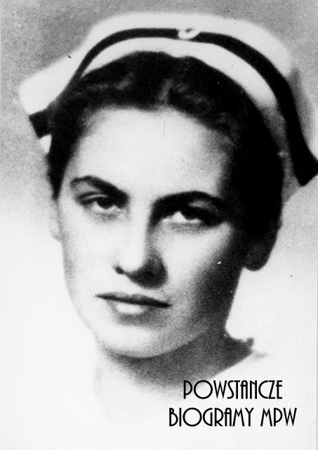 """Wanda Gromulska """"Teresa"""" (1921-1944). Fot. ze zbiorów Muzeum Powstania Warszawskiego, sygn. MPW-IP/4292"""
