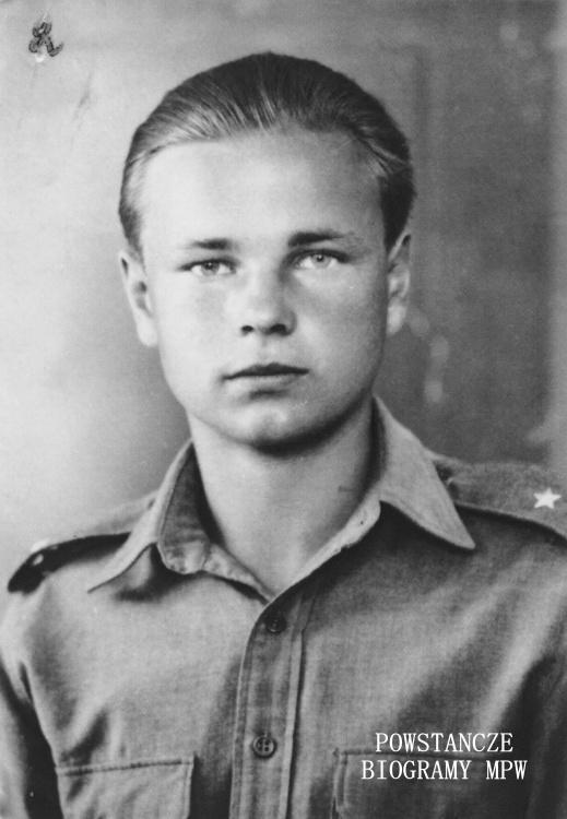"""Olgierd Witold Adaszkiewicz """"Jeż"""", """"4041"""", """"Kier"""" (1926-1998). Fot. z archiwum rodzinnego Andrew Adaszkiewicza"""