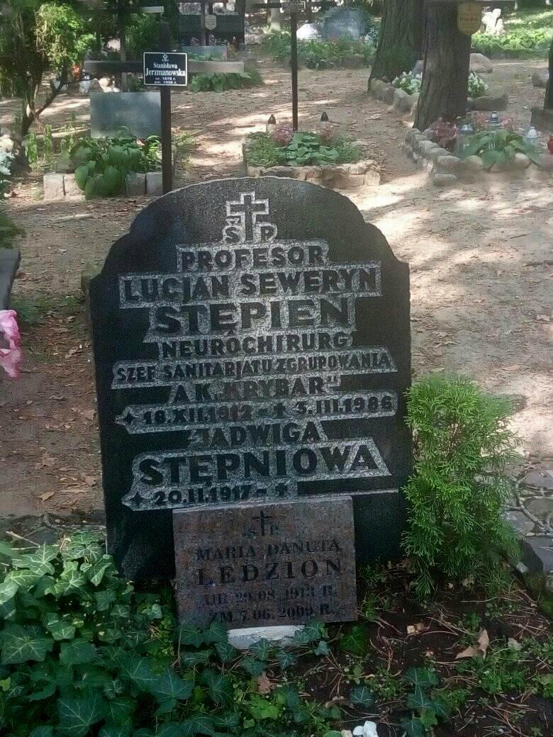 Cmentarz  leśny na terenie Zakładu dla Niewidomych w Laskach koło Warszawy.  Zdjęcie mogiły udostępniła p. Beata Trzcińska
