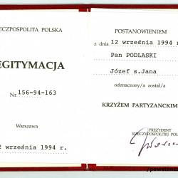 Skan: materiały do Słownika Uczestników PW, Pokój Kombatanta MPW