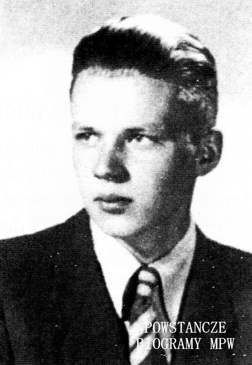 """strz. Jerzy Malczewski """"Wola"""". Na zdjęciu w roku 1944. Fot.z archiwum Jerzego Malczewskiego"""