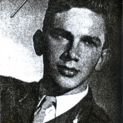 Ppor. Dionizy Piotr Mazur w Anglii 1947 rok.