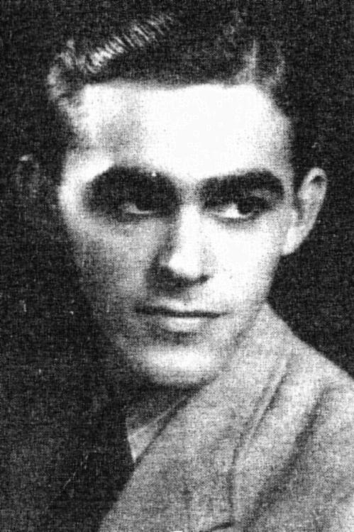 """plut. pchor. Edward Sitarz  """"Biały"""" (1919-1944). Fot. ze zbiorów <i>www.zubry1944.pl</i>"""