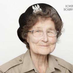 Ludmiła Barbara Płochocka z domu Czaplińska. Zdjęcie z serii portretów Powstańców Warszawskich w ramach projektu