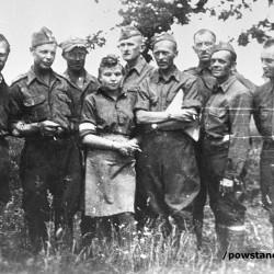 Powstańcy z batalionu