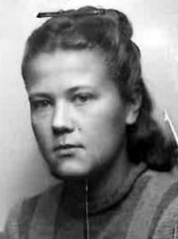 "Hermenegilda Ossowska ""Olga"" Fot. archiwum rodzinne."