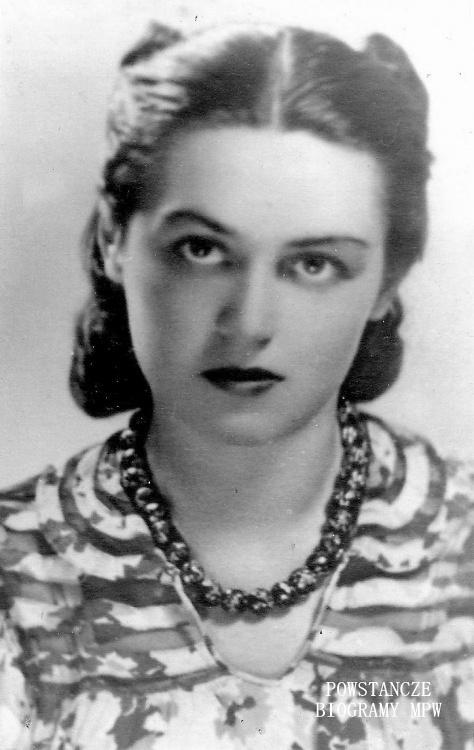 """Irena Ołdakowska """"Rena"""" (1911-1944)  Fot. archiwum rodzinne Urszuli Juhanowicz"""