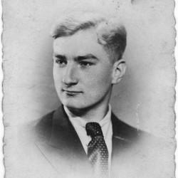 Zdzisław Tadeusz Kalinowski, kwiecień 1944 r. Fot. archiwum rodzinne