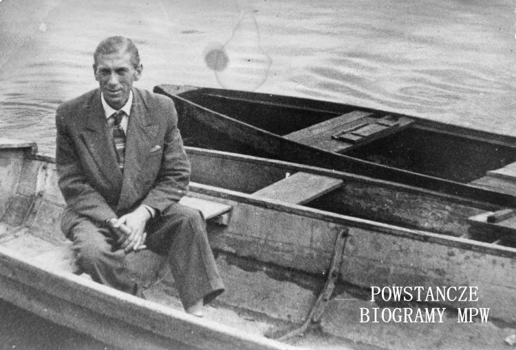 """Jakub Zonenberg """"Burza"""" (1919-1969). Fot. archiwum rodzinne"""