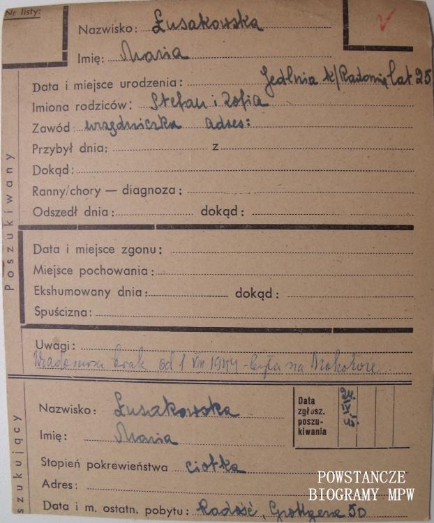 Ze zbiorów Polskiego Czerwonego Krzyża