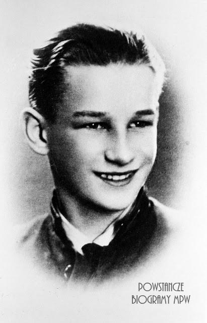 """Zbigniew Ocepski """"Kostrzewa"""" (1921-1944) Fot. AR MPW"""