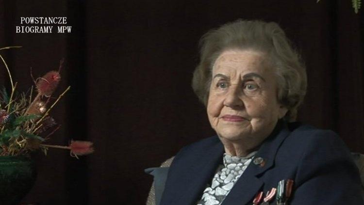 """Irena Alina Grabowska """"Irys"""". Fot. Archiwum Historii Mówionej / MPW"""