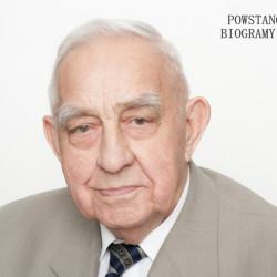 """Józef Wardecki """"Lotczyk"""" (1921-2016). Zdjęcie z serii portretów Powstańców Warszawskich w ramach projektu"""