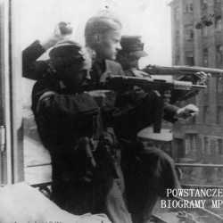 Fotografia z Powstania Warszawskiego. Śródmieście Północne. Powstańcy z 3 kompanii, I batalionu