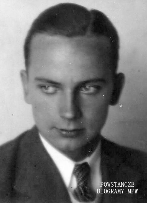 """Jerzy Stanisław Brzozowski ps. """"Sobota"""". Fot. z archiwum rodzinnego."""