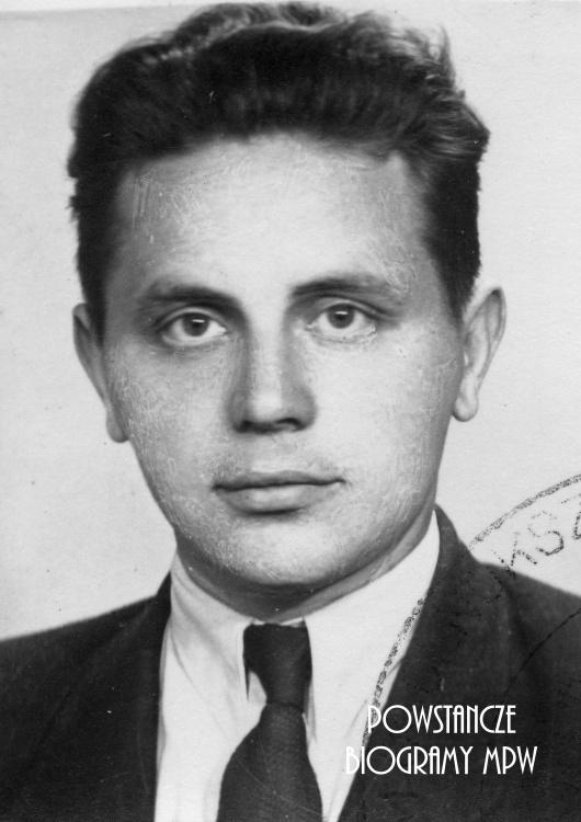 """Antoni Zbigniew Mokwiński ps. """"Skruszyłło"""" (1926-1990) Fot.AR MPW"""