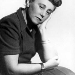 Izabella Dukwicz  z domu Folkierska ( 1908-1963) Fot.ze zbiorów  <i>Muzeum Dulag 121</i>